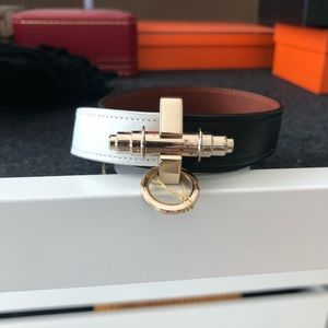 Givenchy Obsedia Wrap Bracelet Black/White